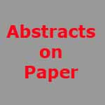 Title of page Abstracts on Paper
